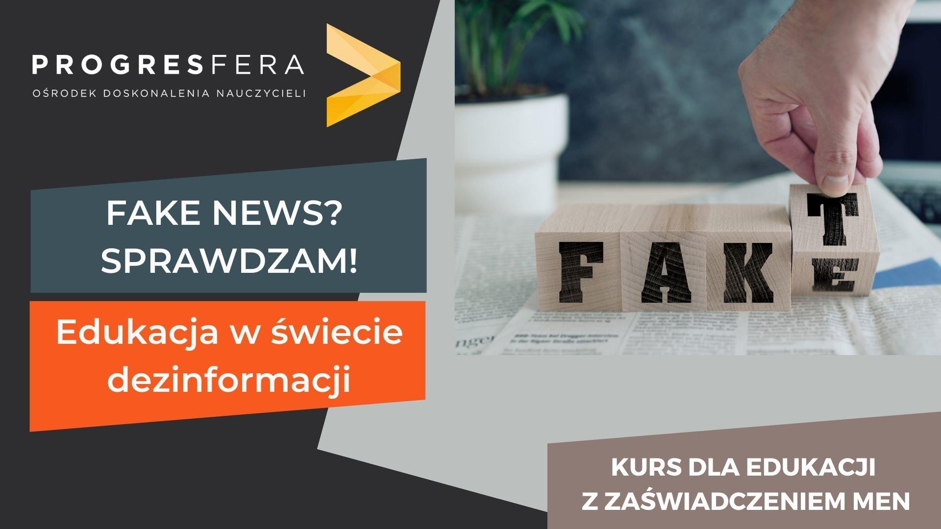 fake news mały