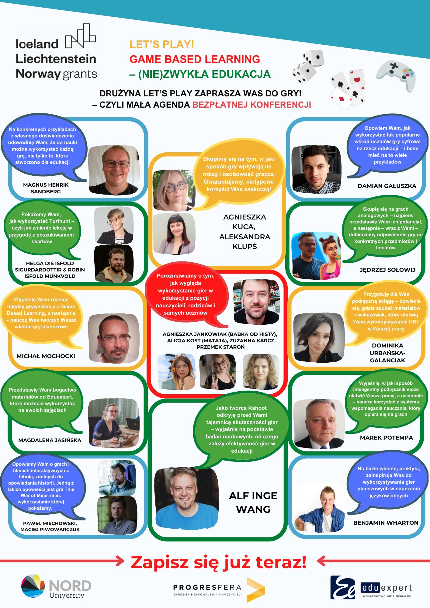 Konferencja online dla nauczycieli